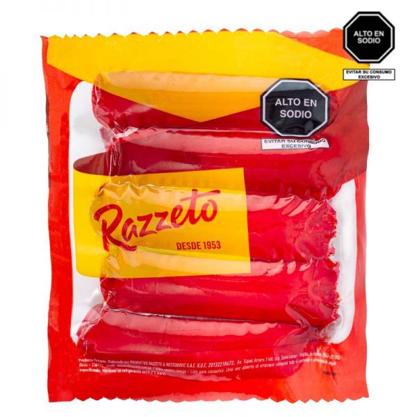 Hot Dog razzeto