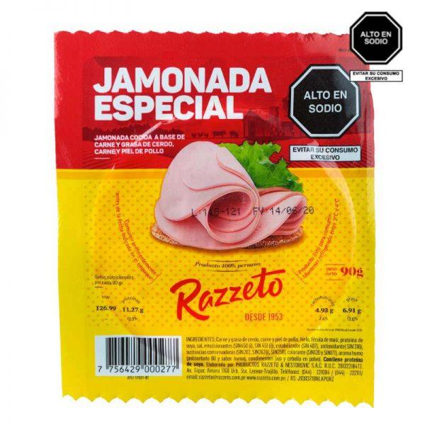 Jamonada especial Razzeto